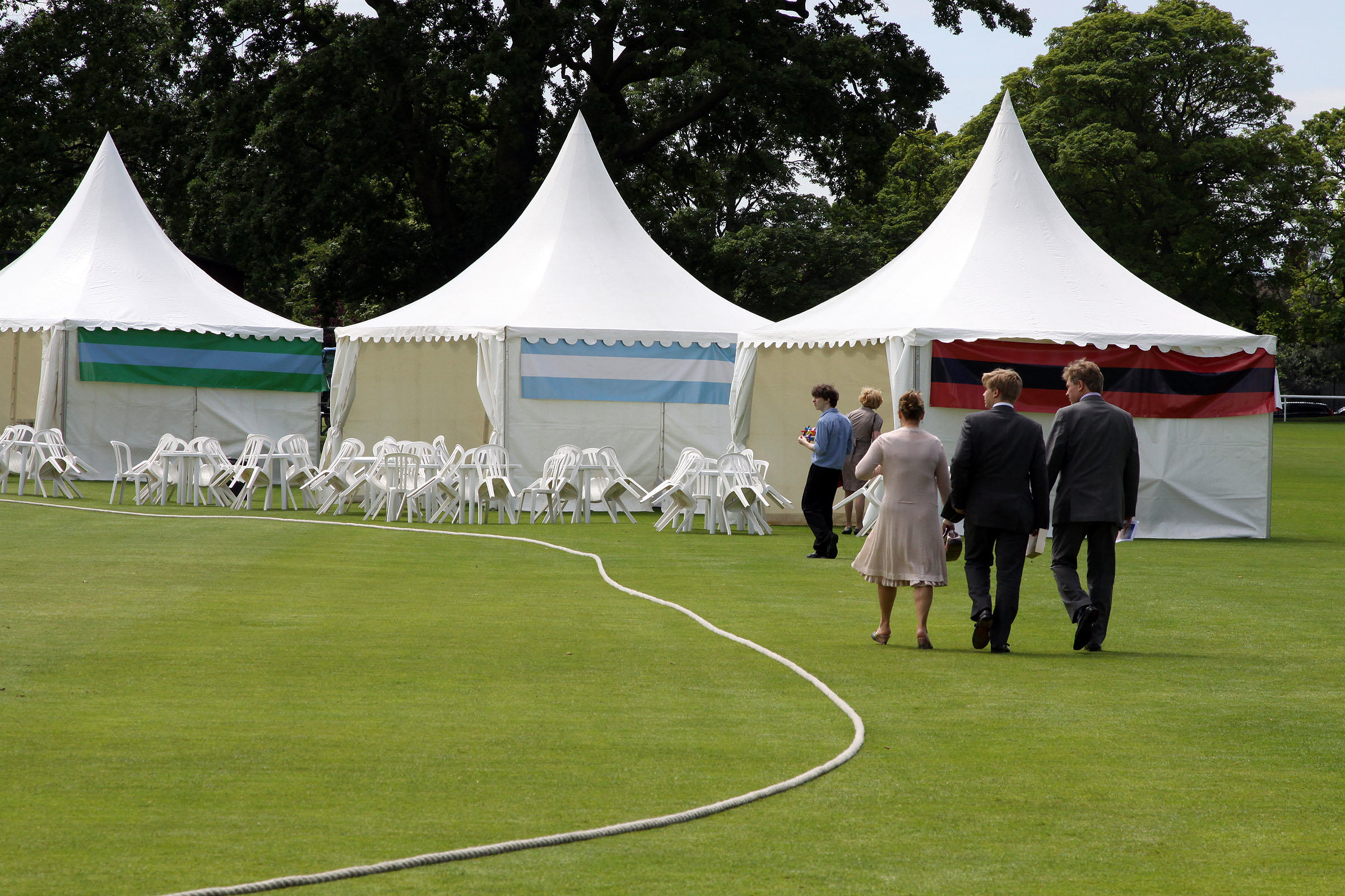 Tents and Marquess – Corporate event